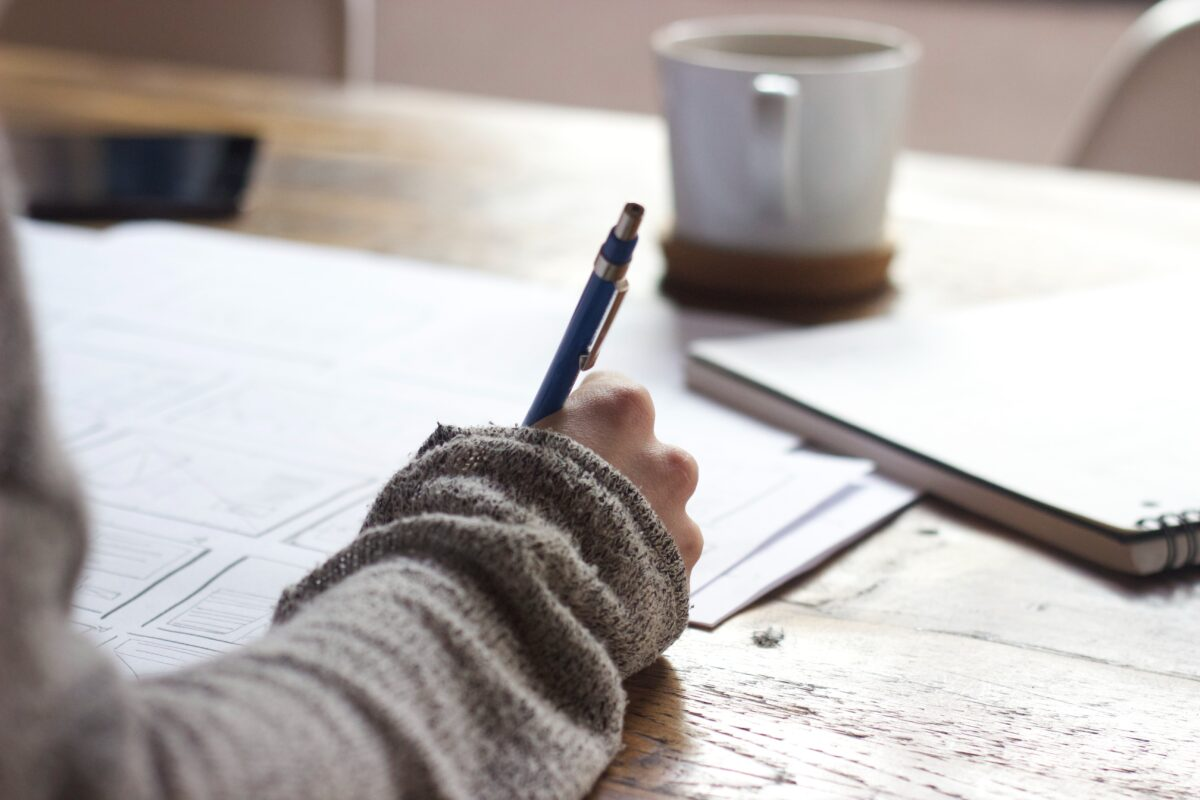Therapeutic writing practices